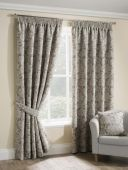 Salisbury Champagne Curtains with Pencil Pleat heading
