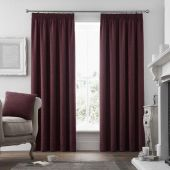 Voysey Ruby Fully Lined Ready Made Curtains