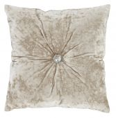 Catherine Lansfield Crushed Velvet Filled Cushion