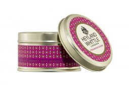 Christmas scented Candles in a Tin by Heyland & Whittle